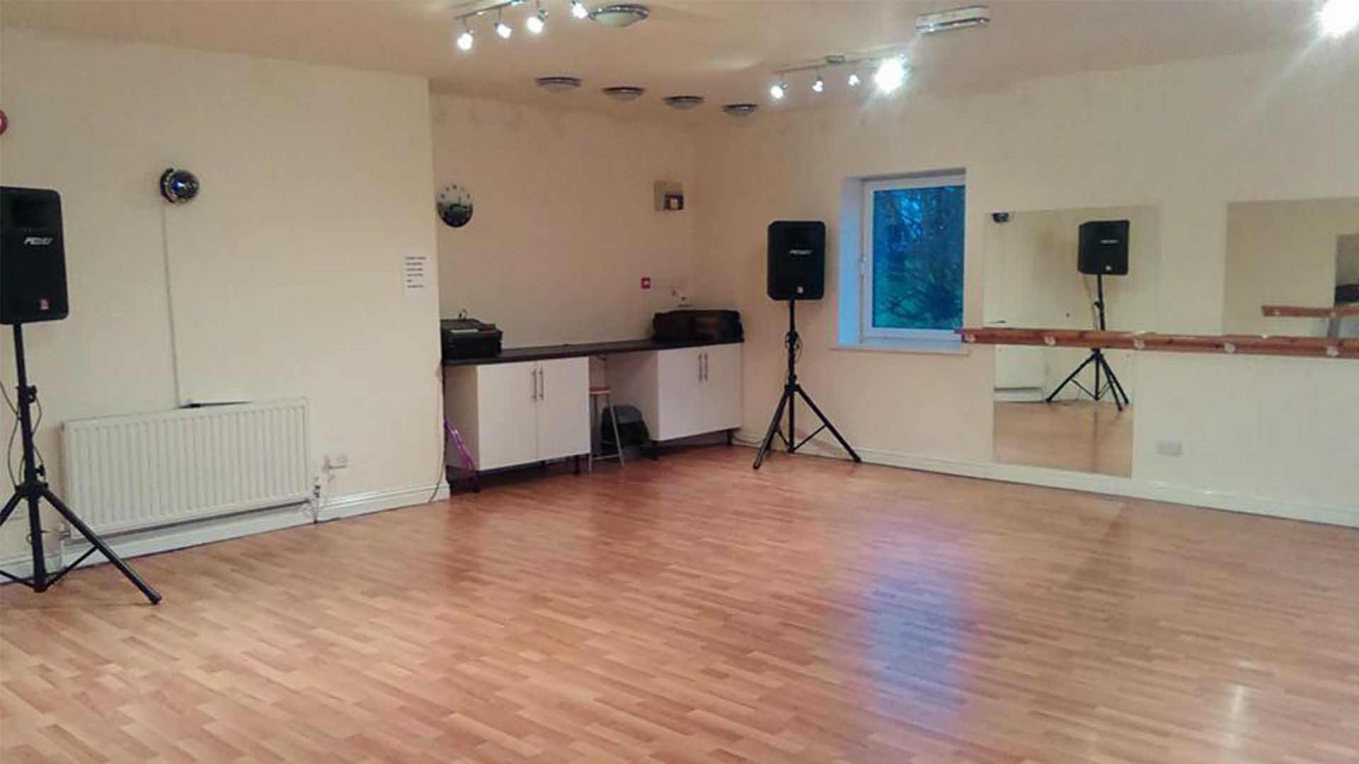 Dance Room with Speakers